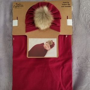 Turban hat and swaddle!!!